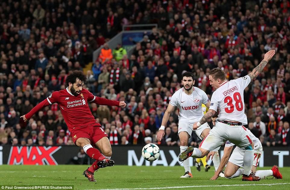 Liverpool thắng đậm 7-0, thẳng tiến vòng knock-out Champions League - Ảnh 8.