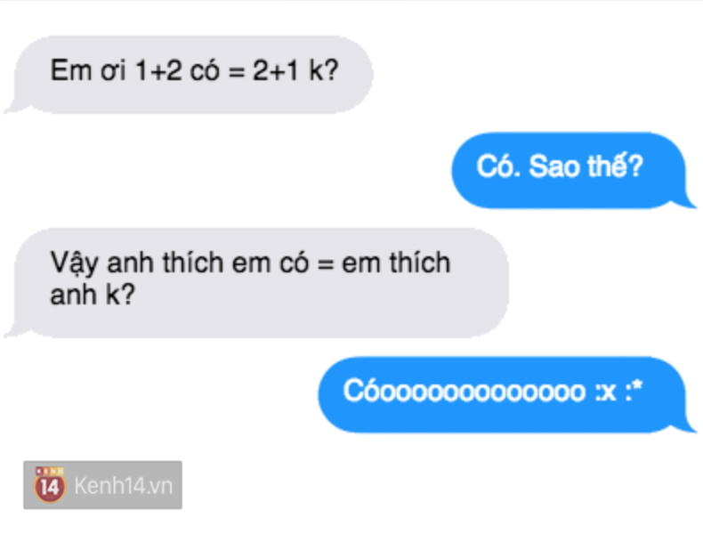 Tỏ tình với crush bằng cách hỏi 1+2 có bằng 2+1 không và cái kết... - Ảnh 15.