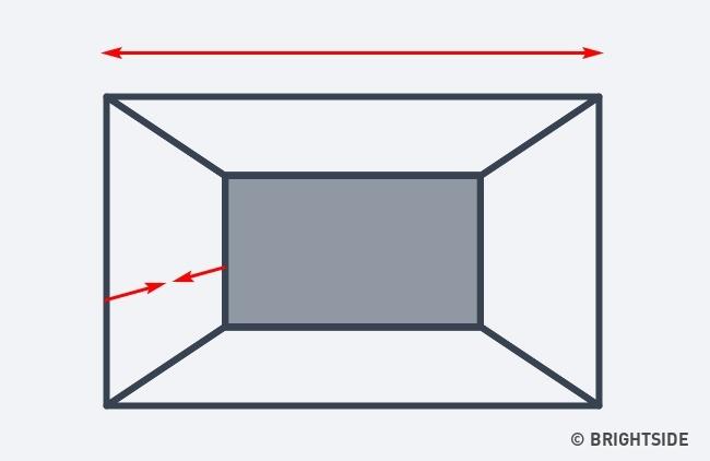 7 cách hô biến căn phòng của bạn trở nên rộng lớn hơn chỉ nhờ ảo ảnh thị giác - Ảnh 5.