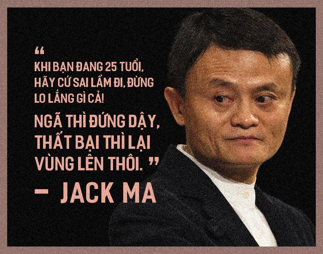 Lời khuyên gây bão của Jack Ma theo từng độ tuổi mà bạn chắc chắn sẽ cực tâm đắc khi nghe - Ảnh 1.