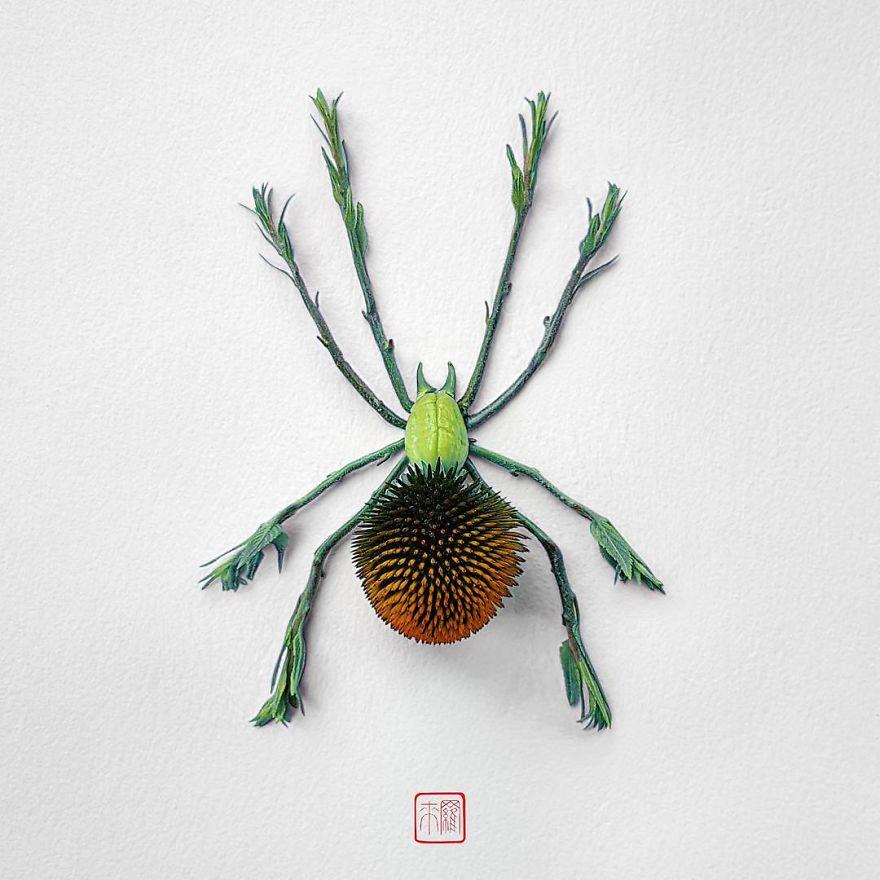 Khoác lên mình lớp áo hoa cỏ rực rỡ, côn trùng bỗng trở nên đẹp và sang hơn bao giờ hết - Ảnh 4.