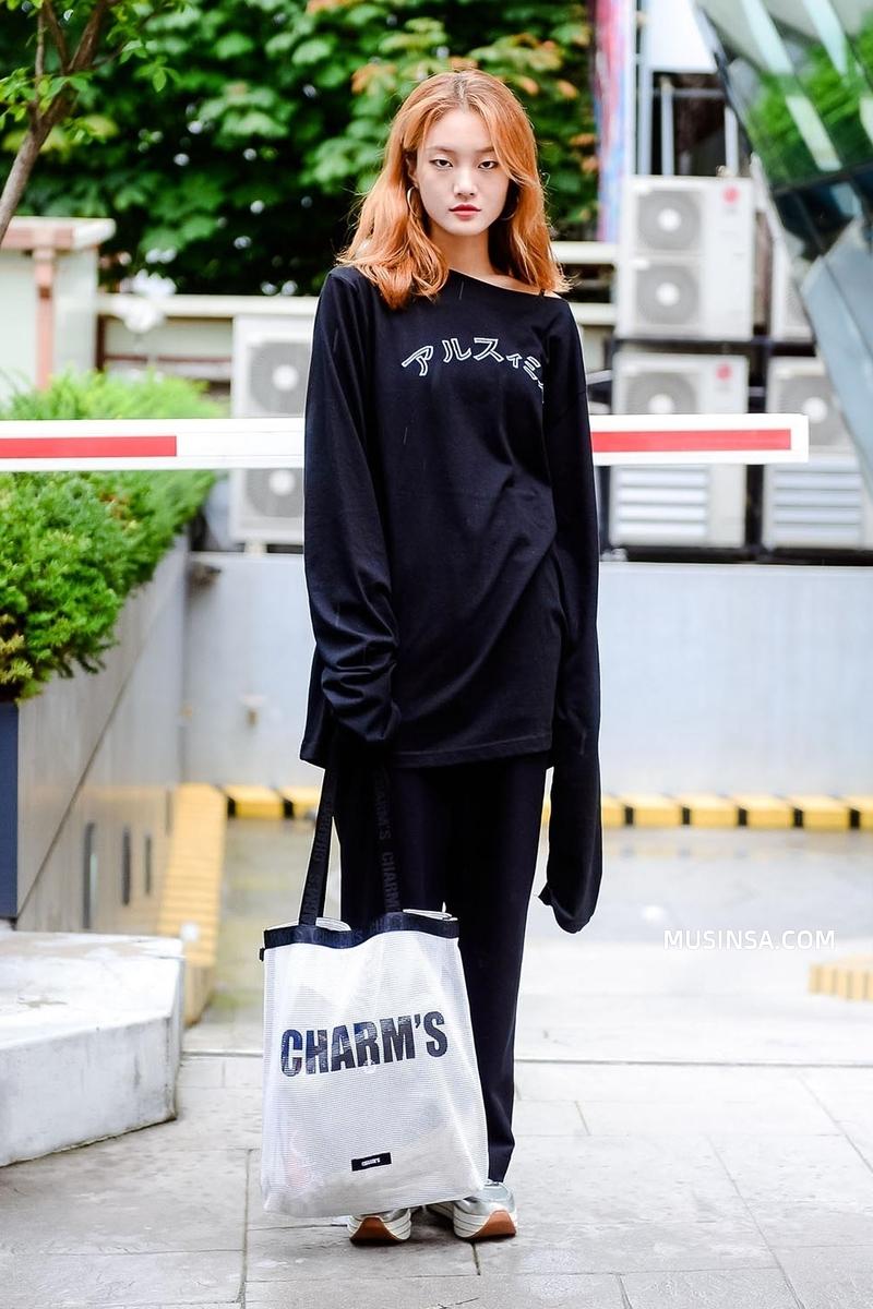 Cùng trưng dụng quần shorts nhưng giới trẻ Hàn lại có cả tá cách mix, cách nào cũng hút mắt thôi rồi! - Ảnh 11.