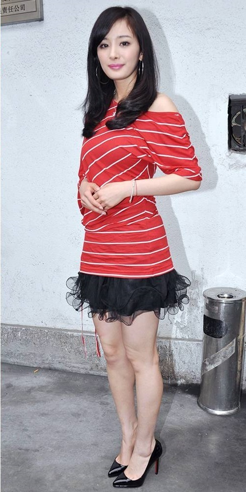 Nổi tiếng mặc đẹp nhưng Dương Mịch cũng từng có vô số pha mặc lỗi chẳng muốn nhìn lại như thế này - Ảnh 7.