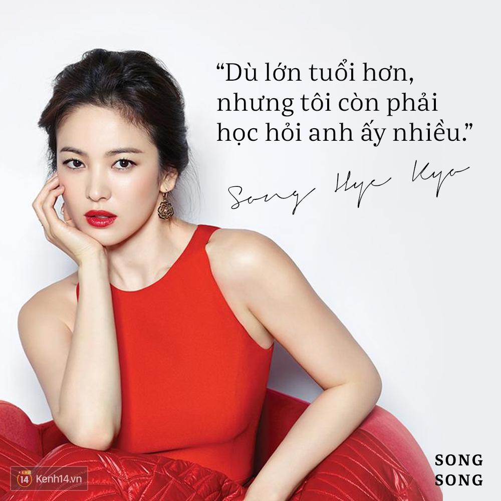 Xem cách Song Joong Ki và Song Hye Kyo tỏ tình mới thấy: Một khi đã yêu, mọi lời nói đều có thể ngôn tình hóa - Ảnh 9.