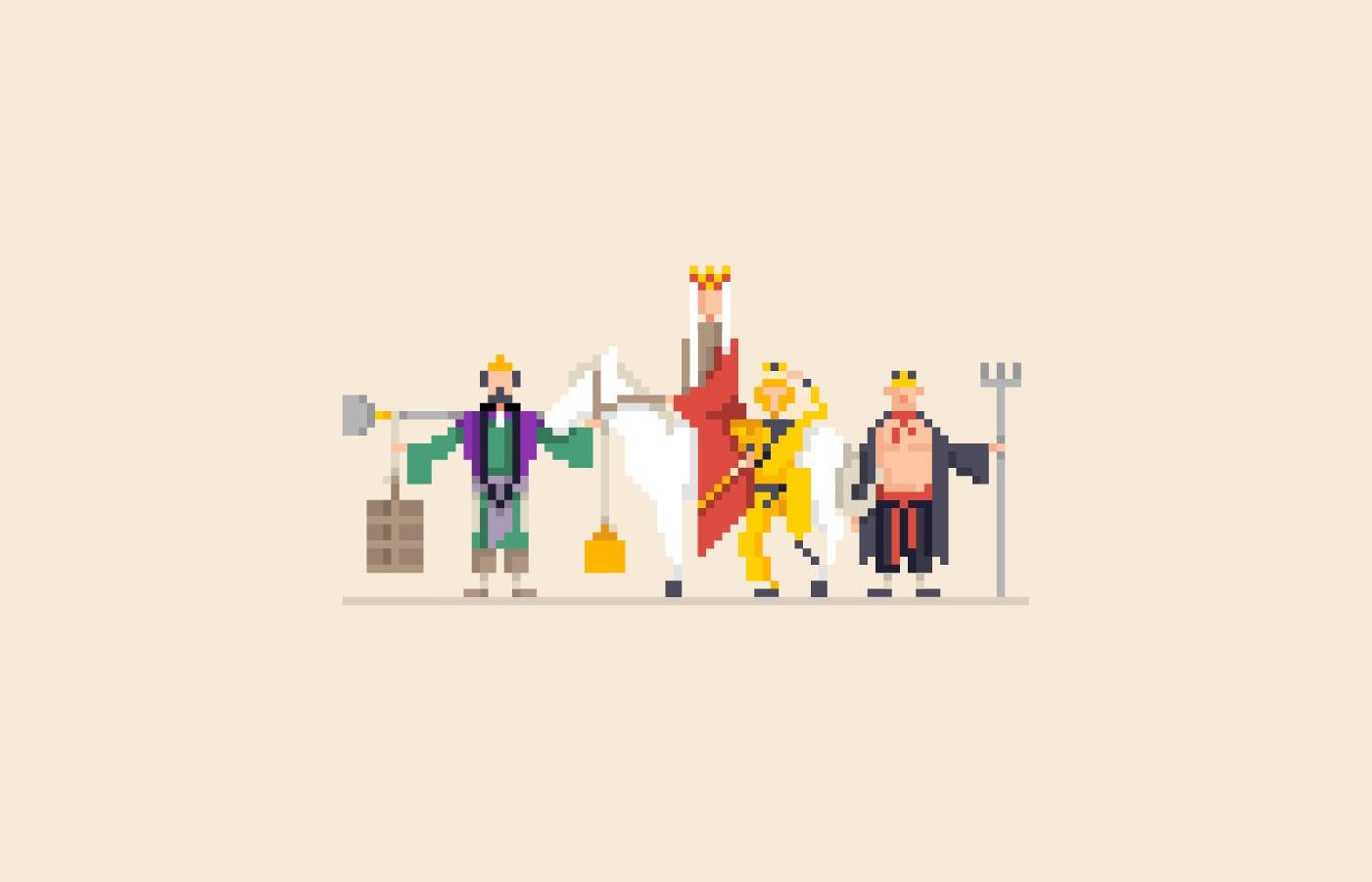 Khi những bộ phim truyền hình tuổi thơ đồng loạt trở thành game 8-bit, bạn có còn nhận ra!? - Ảnh 9.