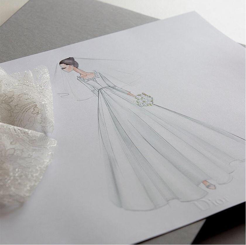 Nhà mốt Dior hé lộ những bức hình hiếm có về quá trình tạo nên chiếc váy cưới độc nhất vô nhị cho Song Hye Kyo - Ảnh 6.