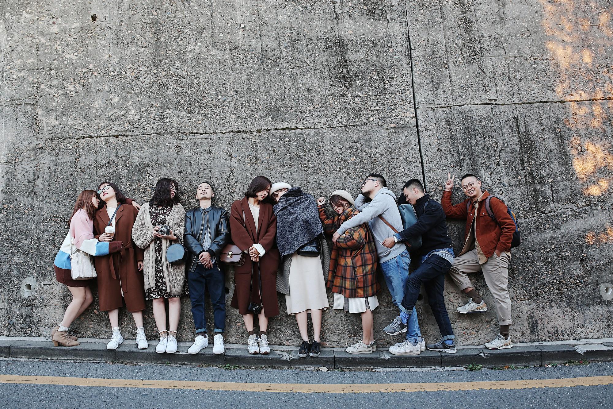 Ảnh đi Hàn tuyệt đẹp của An Toe: Du lịch nhóm, lên concept áo quần quan trọng như... mua vé máy bay! - Ảnh 4.