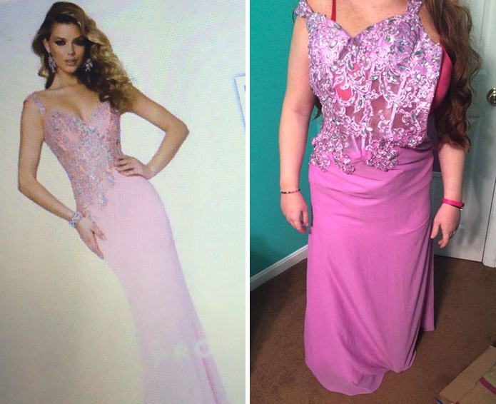 Những bộ váy prom thảm họa mua online biến công chúa thành phù thủy trong chớp mắt - Ảnh 24.