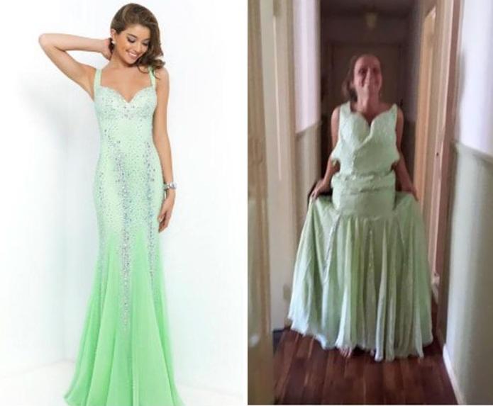 Những bộ váy prom thảm họa mua online biến công chúa thành phù thủy trong chớp mắt - Ảnh 18.