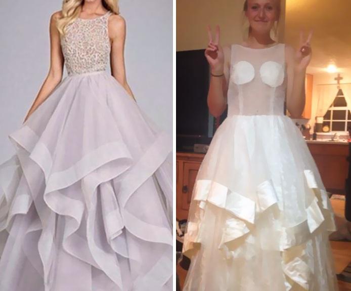 Những bộ váy prom thảm họa mua online biến công chúa thành phù thủy trong chớp mắt - Ảnh 14.