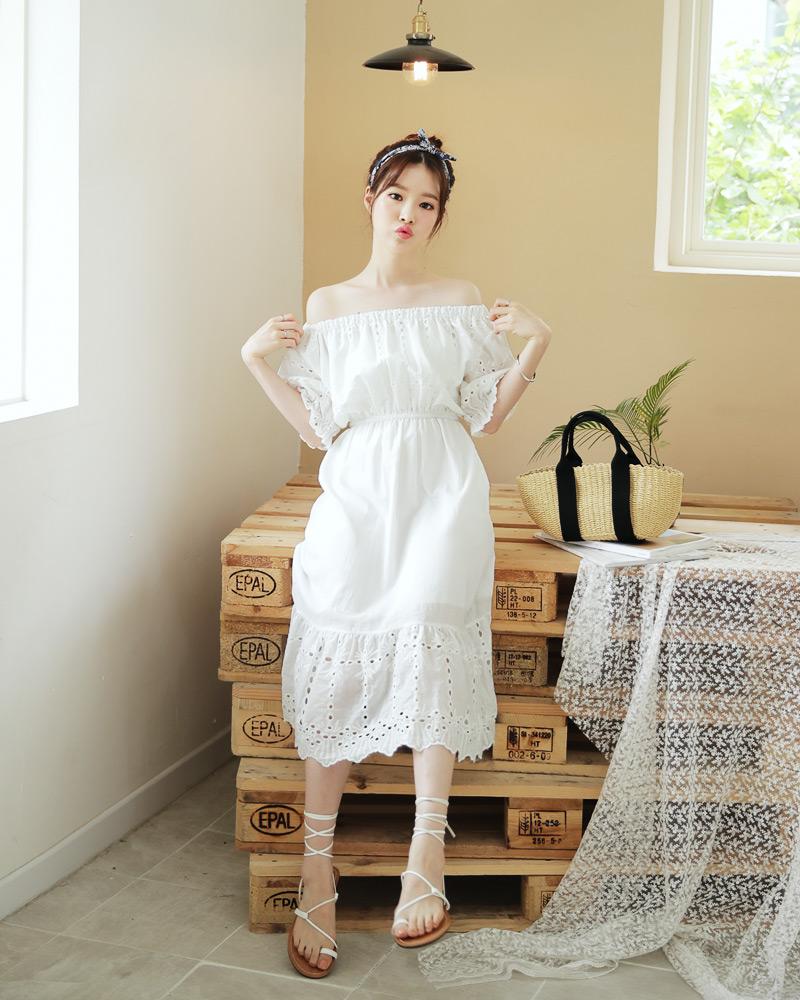 Ngoài váy hoa, hè này còn 5 kiểu váy khác cũng xinh và mát hết nấc - Ảnh 34.