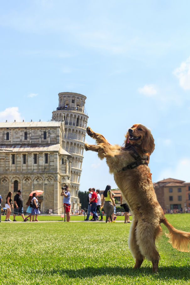 16 kiểu chụp ảnh sống ảo sáng tạo với tháp nghiêng Pisa - Ảnh 5.