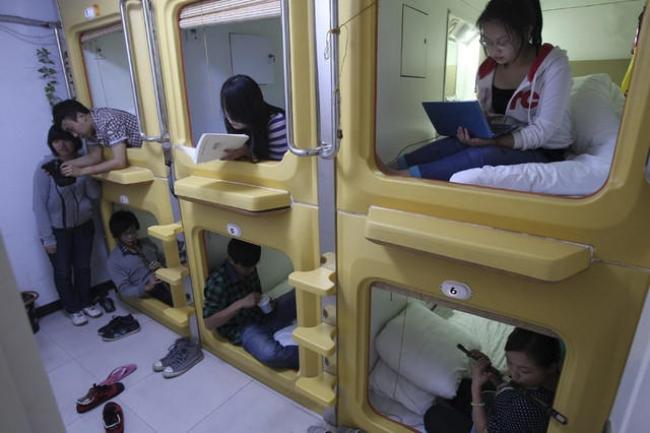 Mục sở thị những căn phòng ốc sên siêu nhỏ - đặc sản của người Nhật - Ảnh 7.