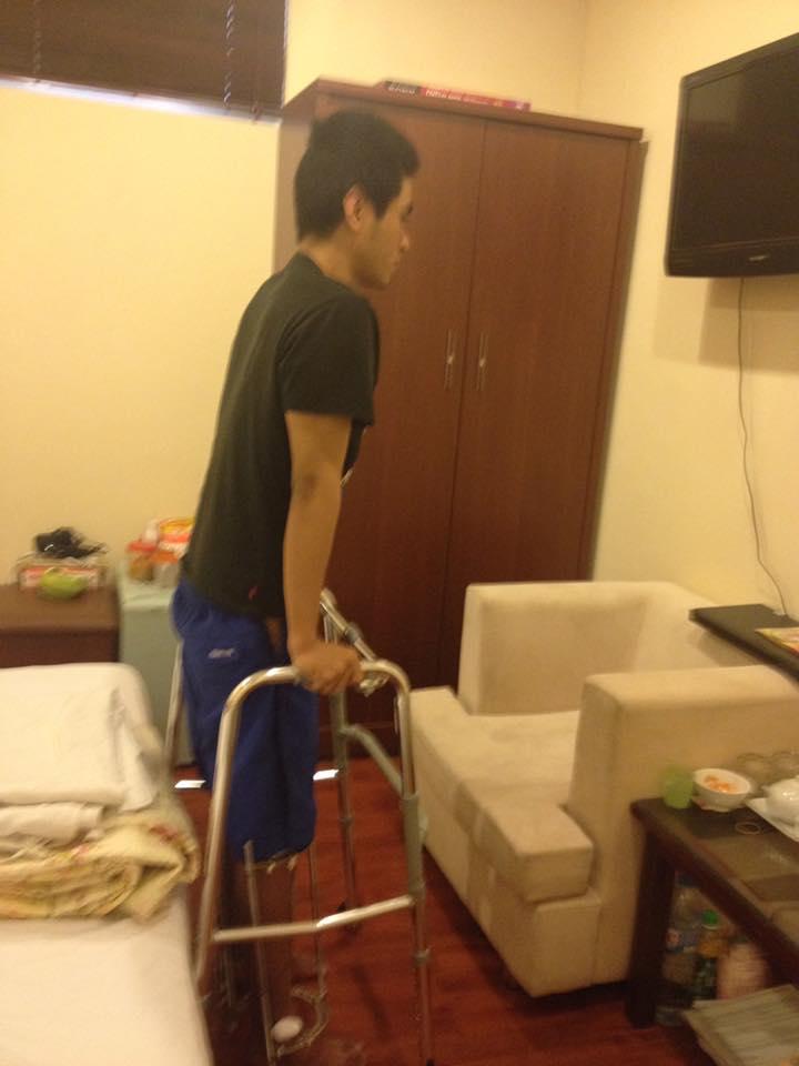 Nhật ký kéo dài chân từ 1m67 đến 1m76 (9 cm) của chàng trai Hà Nội - Ảnh 8.