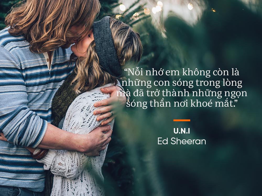 Học yêu qua 13 bản tình ca lãng mạn và chạm đến trái tim của Ed Sheeran - Ảnh 19.