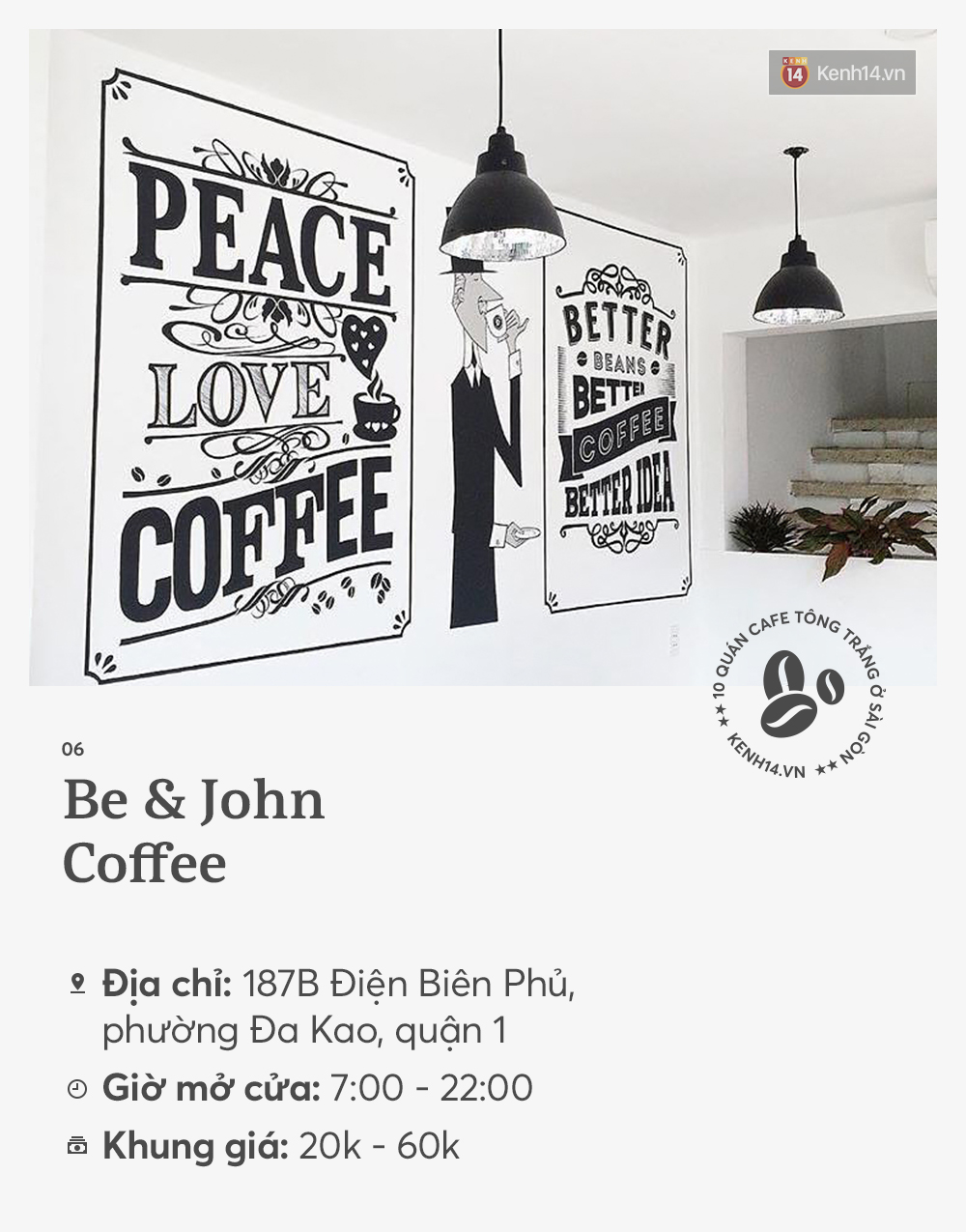 10 quán cà phê tông trắng ở Sài Gòn, cứ đến là có ảnh đẹp! - Ảnh 11.