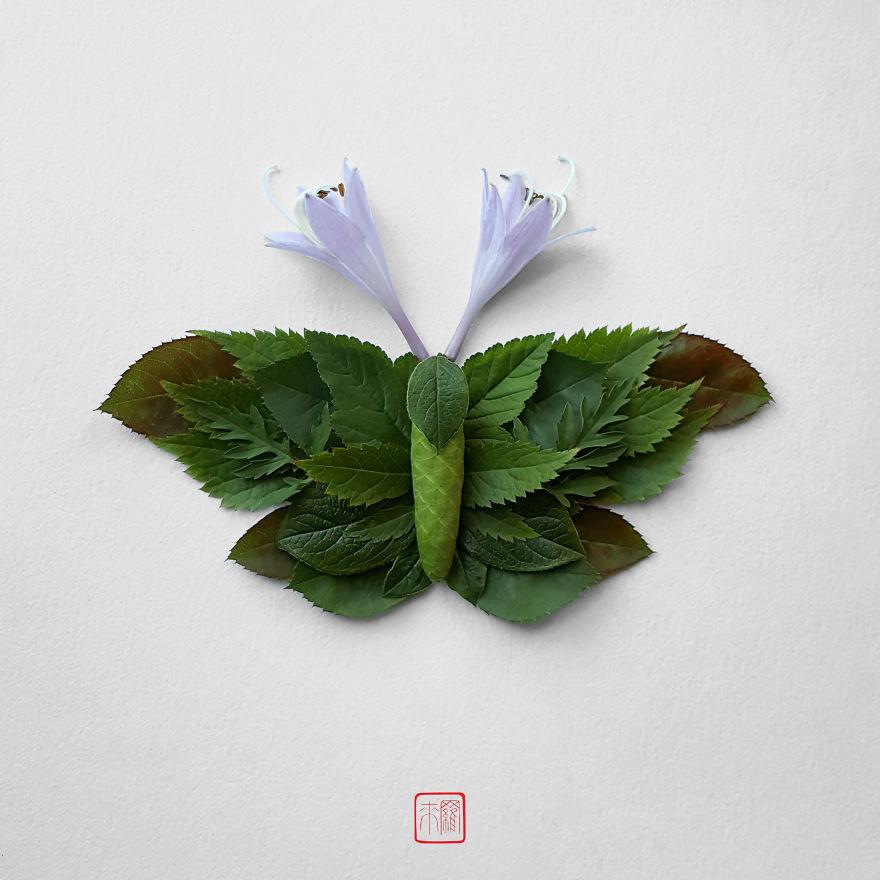 Khoác lên mình lớp áo hoa cỏ rực rỡ, côn trùng bỗng trở nên đẹp và sang hơn bao giờ hết - Ảnh 5.