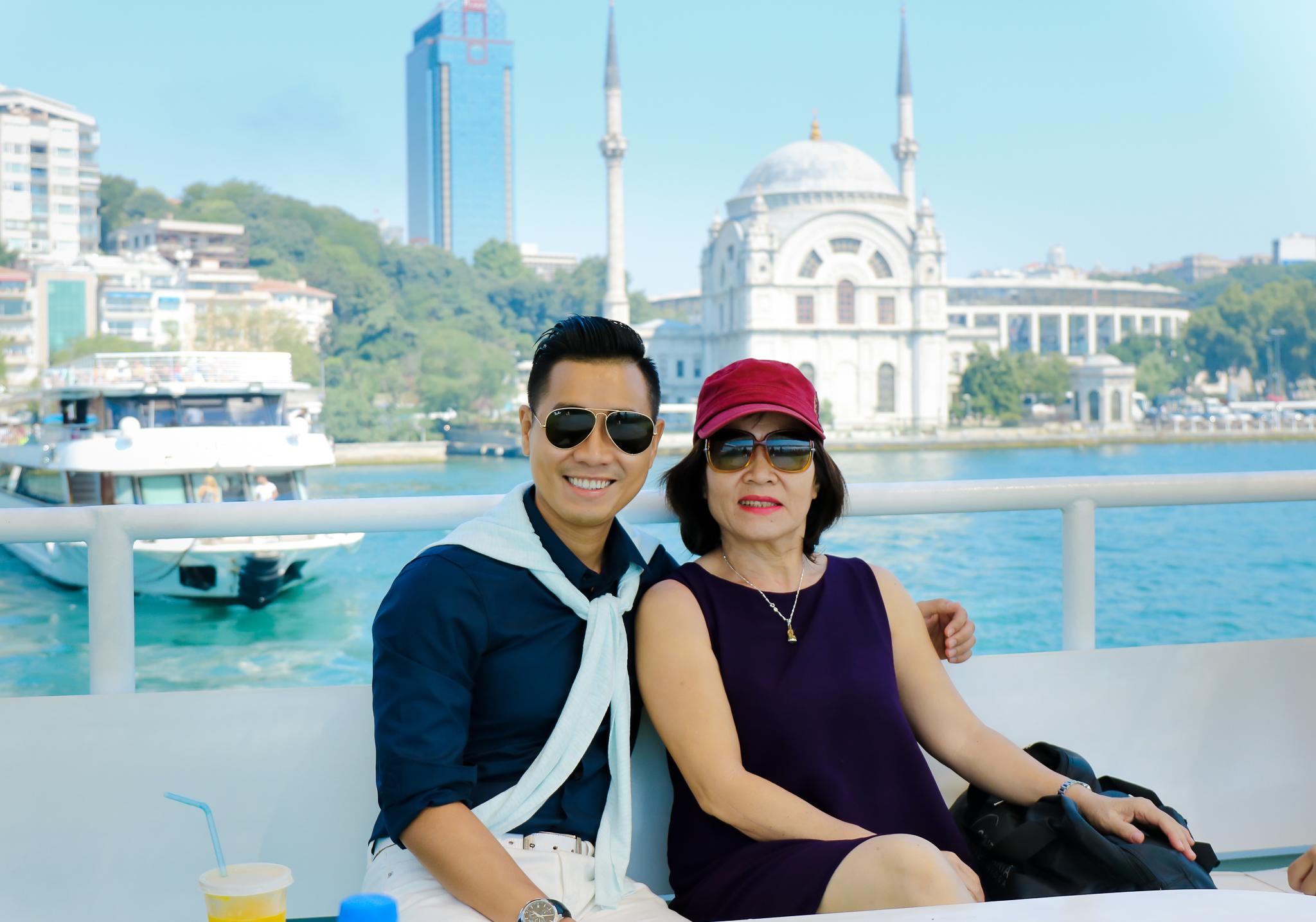 Nguyên Khang rạng rỡ đưa mẹ đi du ngoạn Thổ Nhĩ Kỳ - Ảnh 8.