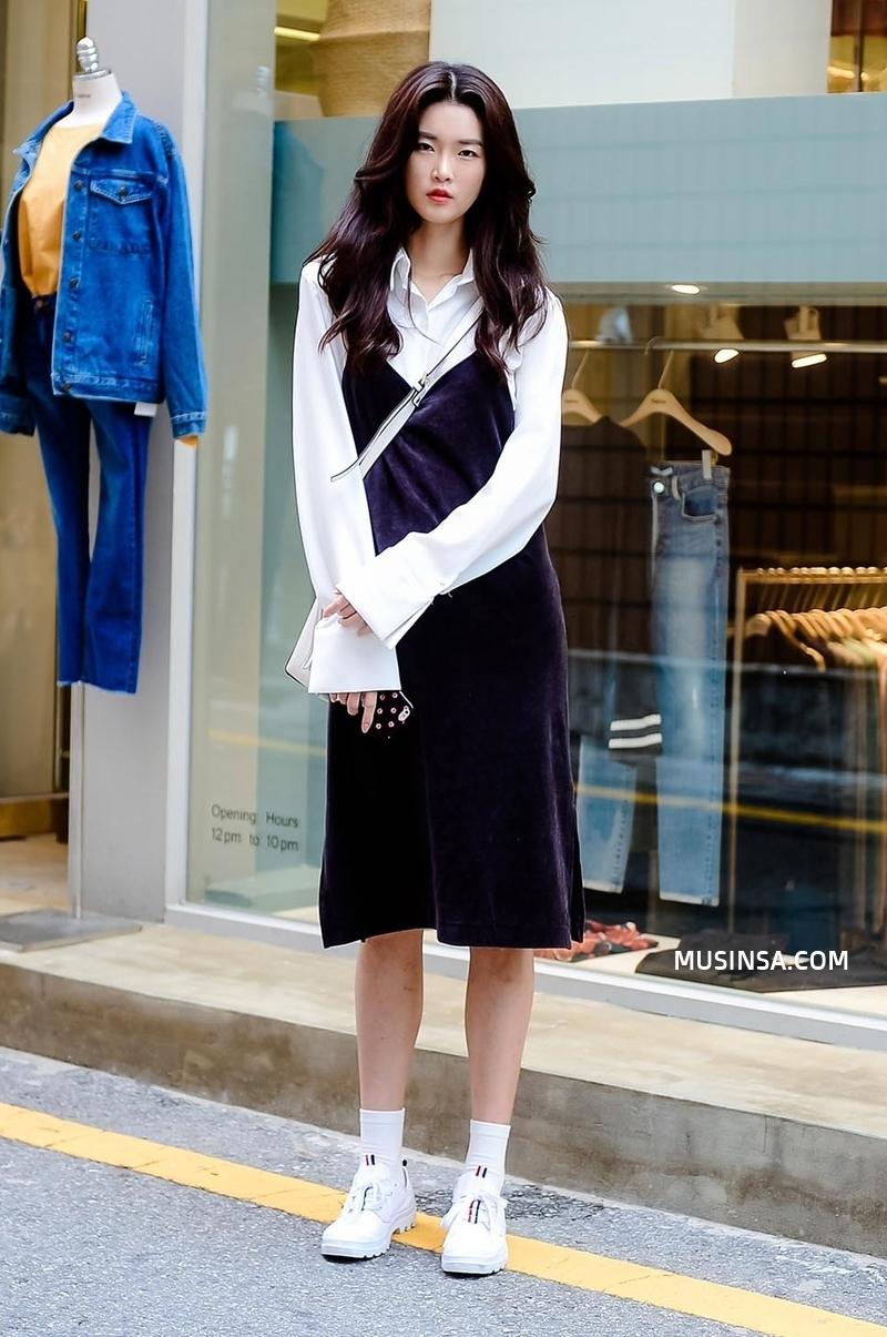 Chỉ dạo phố mà giới trẻ Hàn vẫn lên đồ đẹp hết nấc, không học hỏi đôi chút thì quả là phí - Ảnh 6.