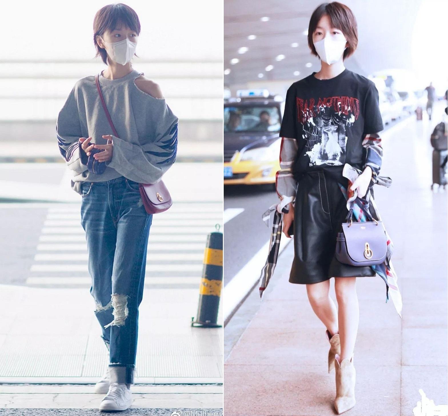 Trông hết sức bình thường nhưng chiếc túi hàng hiệu này lại đang được loạt Hoa ngữ và các fashionista thi nhau diện - Ảnh 5.