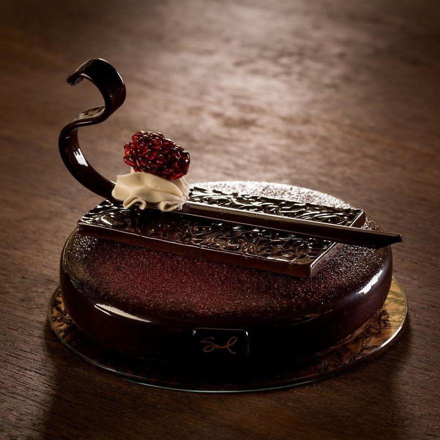 Chiêm ngưỡng những chiếc bánh ngọt vô cùng đẹp mắt được làm bằng thủy tinh và sứ - Ảnh 10.