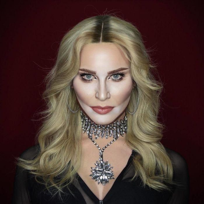 Nghệ sĩ trang điểm có thể hóa trang thành hàng trăm khuôn mặt khác nhau mà không cần photoshop - Ảnh 23.
