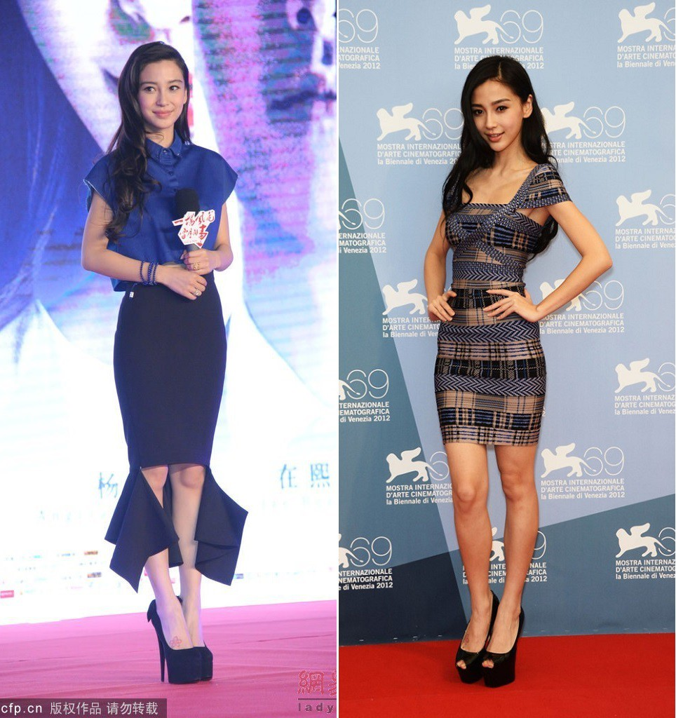 BST giày cao gót bá đạo của Phạm Băng Băng, Angela Baby: lênh khênh như cà kheo, thậm chí không có gót nhìn đã muốn trẹo chân - Ảnh 5.