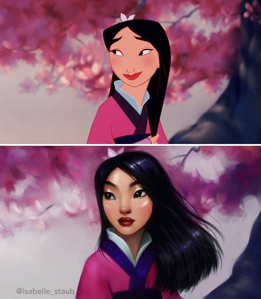 Chiêm ngưỡng nhan sắc lồng lộn của những nàng công chúa Disney sau khi đi phẫu thuật thẩm mỹ - Ảnh 11.