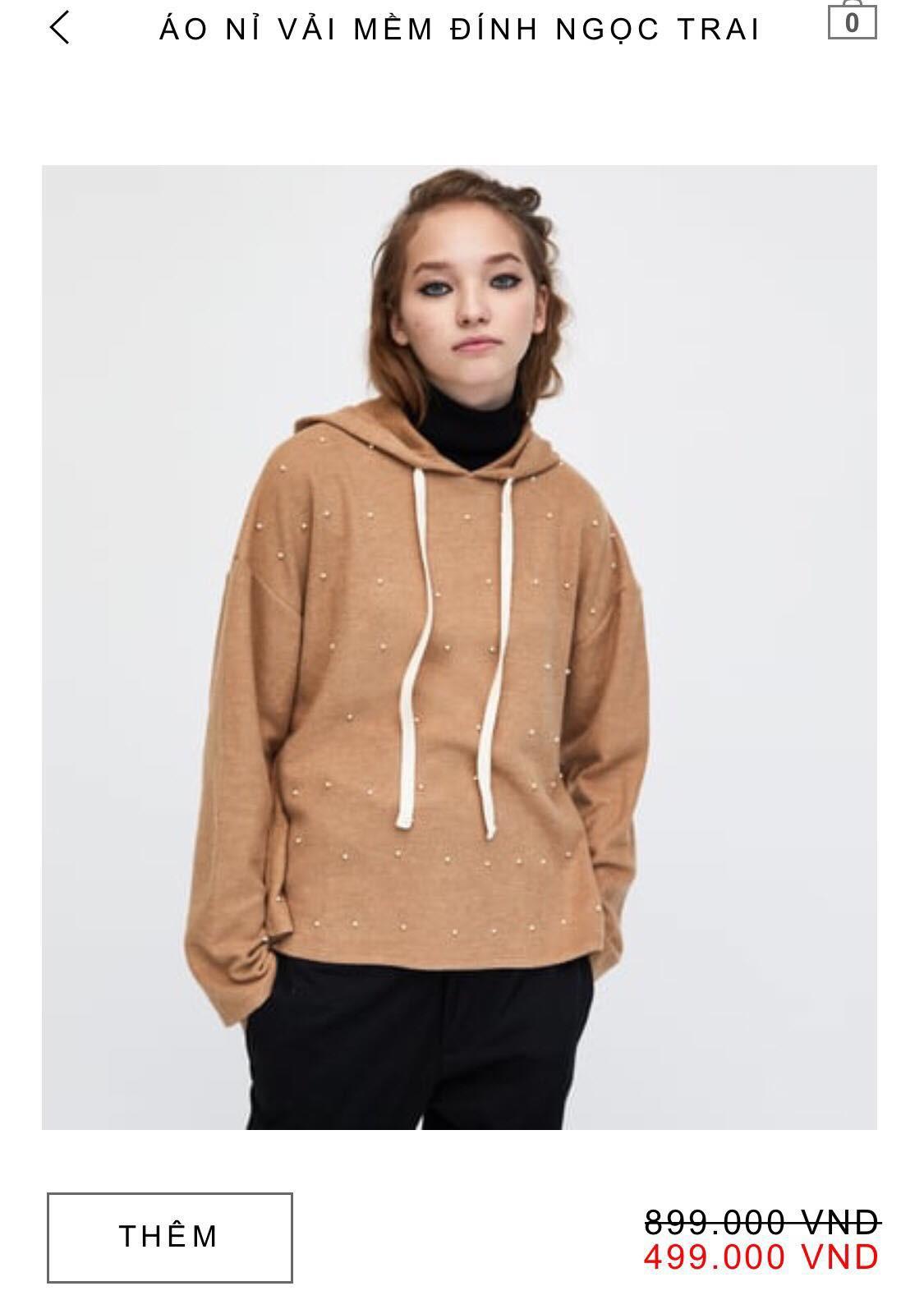 14 mẫu áo len, áo nỉ dưới 500.000 VNĐ xinh xắn, trendy đáng sắm nhất đợt sale này của Zara - Ảnh 9.