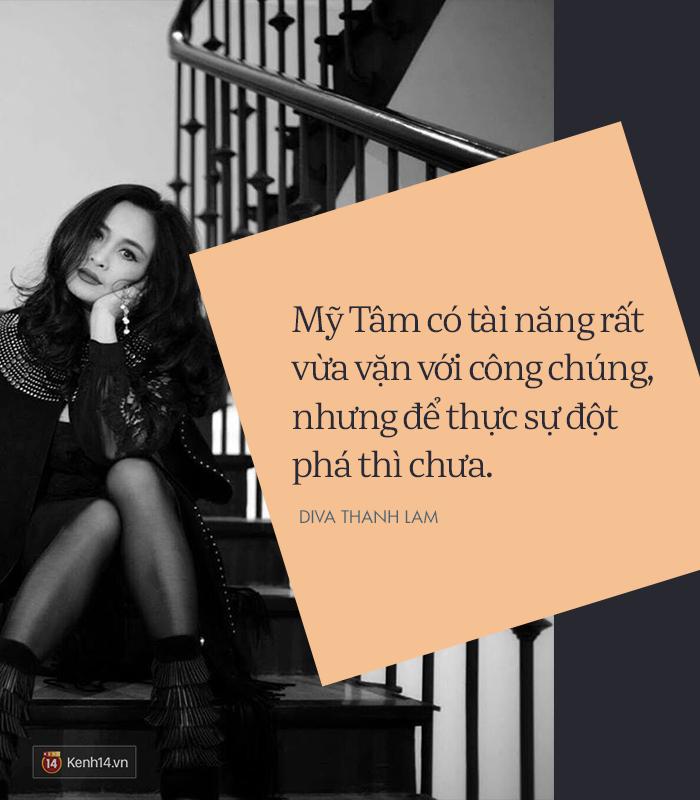 8 phát ngôn trong âm nhạc thẳng như ruột ngựa, chẳng ngại đụng chạm của Diva Thanh Lam - Ảnh 12.