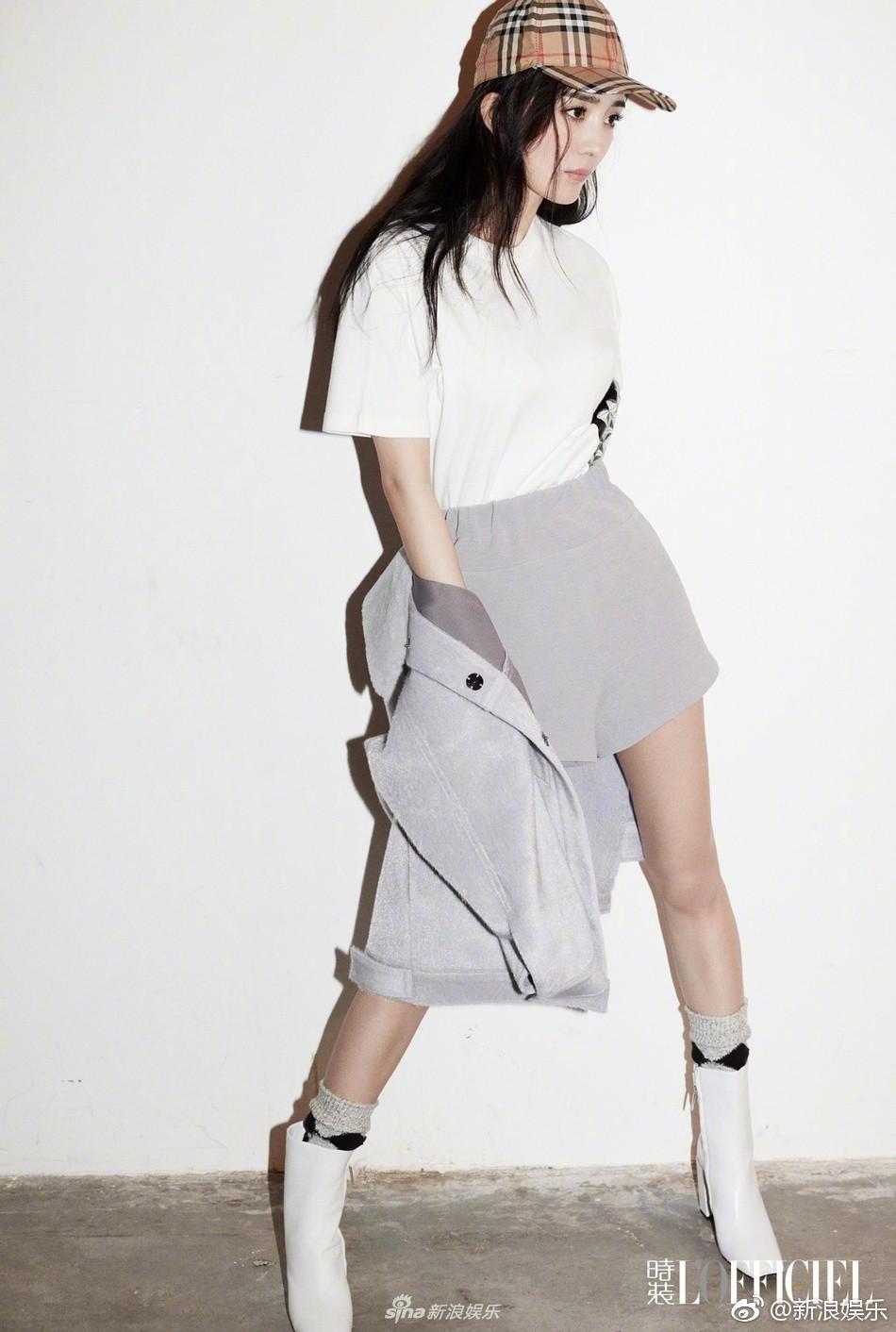 Sở hữu lợi thế đôi chân dài và thẳng, Dương Mịch khoe hết cỡ sắc vóc nuột nà trên tạp chí - Ảnh 6.