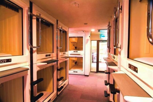 Mục sở thị những căn phòng ốc sên siêu nhỏ - đặc sản của người Nhật - Ảnh 2.