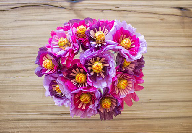 Hoa kẹo mút - món quà chữa cháy cực đáng yêu khi... quên mua quà tặng - Ảnh 10.