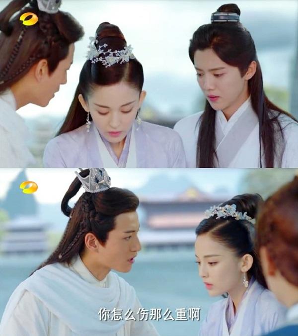 """""""Trạch Thiên Ký"""": Thánh nữ Na Trát liều mạng bảo vệ Luhan - Ảnh 4."""