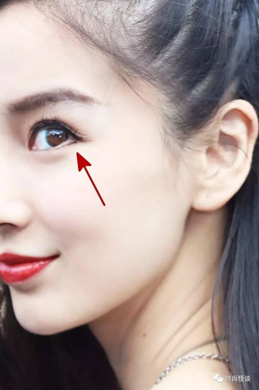 Dán mi dưới chệch, thủ thuật được Angela Baby và nhiều sao Hoa ngữ áp dụng để có đôi mắt to tròn long lanh - Ảnh 7.