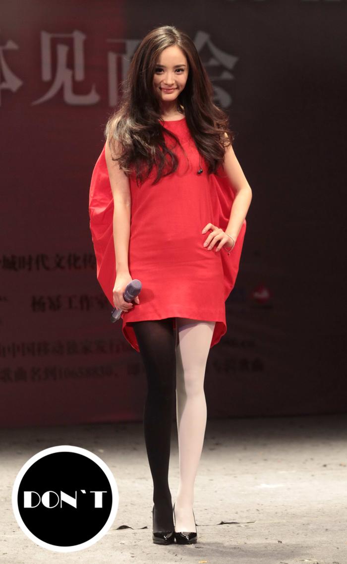 Nổi tiếng mặc đẹp nhưng Dương Mịch cũng từng có vô số pha mặc lỗi chẳng muốn nhìn lại như thế này - Ảnh 9.