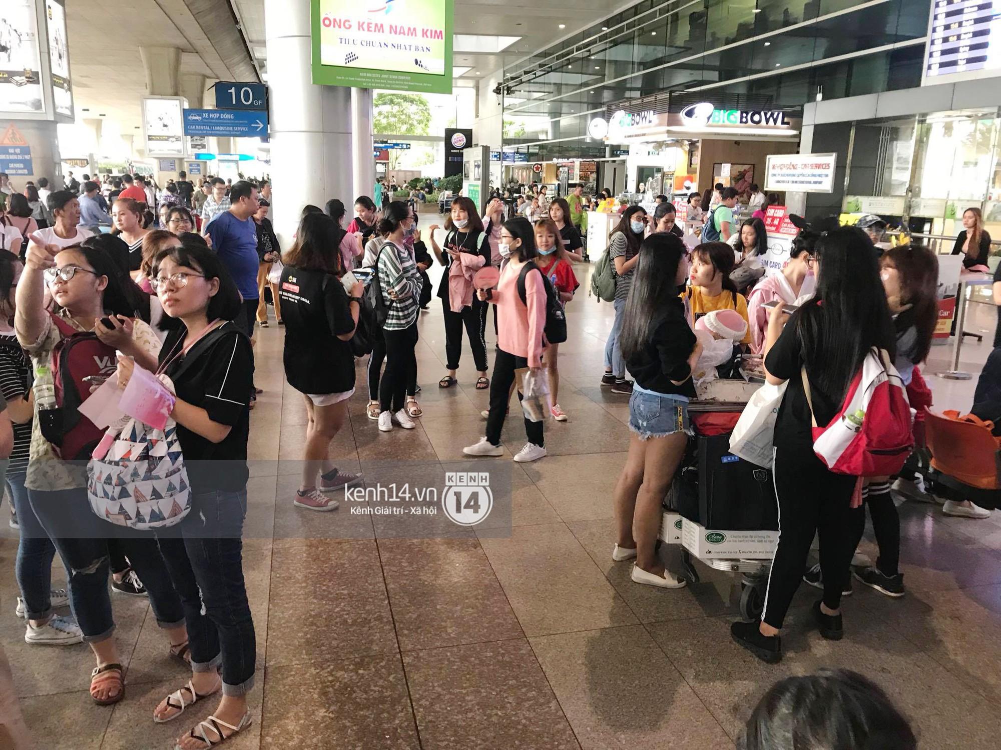 Fan Việt chiếm đóng nửa sân bay Tân Sơn Nhất chỉ để đón chờ WANNA ONE - Ảnh 7.