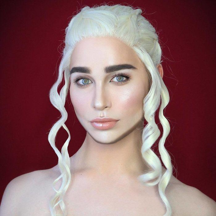 Nghệ sĩ trang điểm có thể hóa trang thành hàng trăm khuôn mặt khác nhau mà không cần photoshop - Ảnh 17.