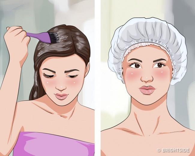 Ghi nhớ 7 cách dưỡng tóc tự nhiên này để có mái tóc bóng mượt như vừa bước ra từ tiệm - Ảnh 12.