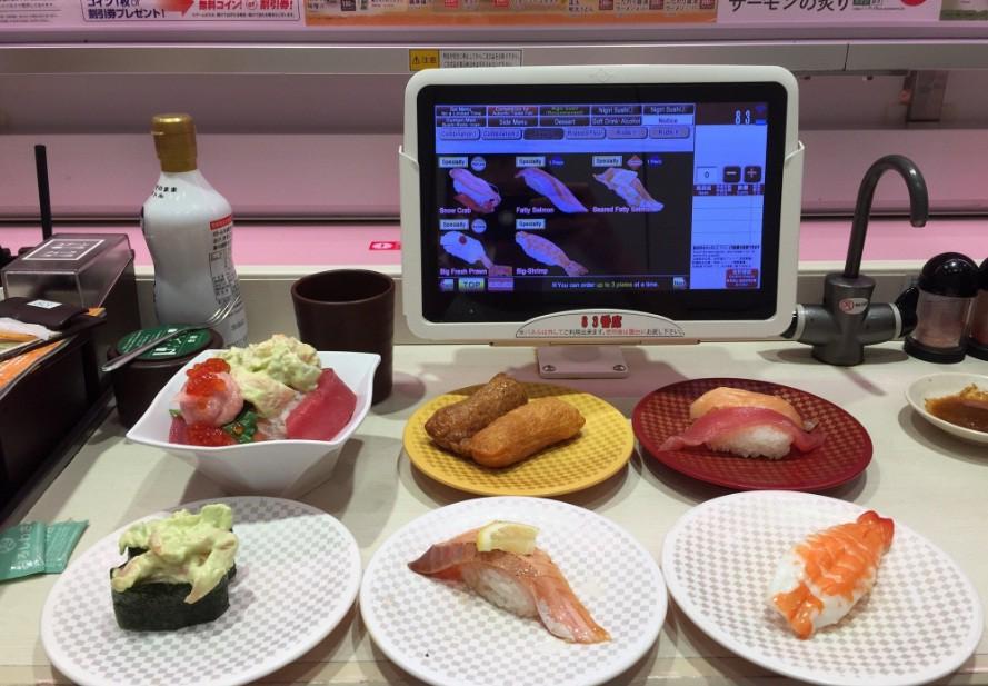 Thú vị với cách thưởng thức sushi tàu hỏa siêu nhanh ở Nhật Bản - Ảnh 5.