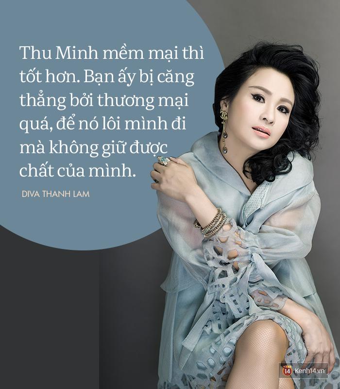 8 phát ngôn trong âm nhạc thẳng như ruột ngựa, chẳng ngại đụng chạm của Diva Thanh Lam - Ảnh 14.