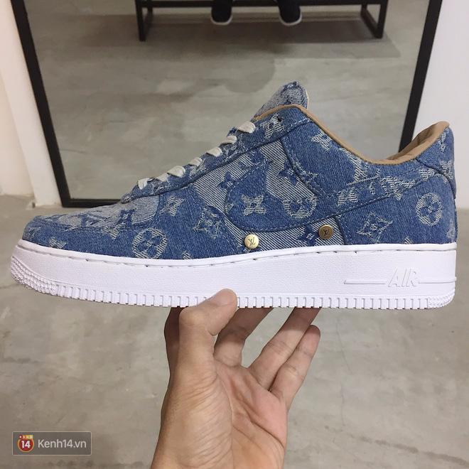 9x Việt độ giày từ đồ Louis Vuitton x Supreme hàng chục triệu đồng đang khiến giới chơi sneakers phát sốt - Ảnh 16.