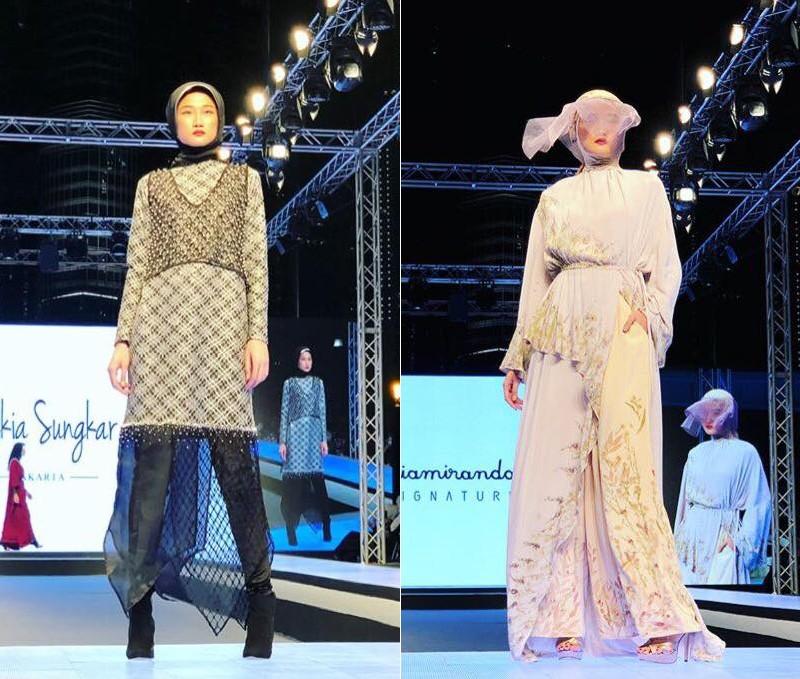 Tưởng theo chồng bỏ cuộc chơi, Kha Mỹ Vân vẫn âm thầm công phá Dubai Modest Fashion Week, nhận cát xê khủng - Ảnh 4.