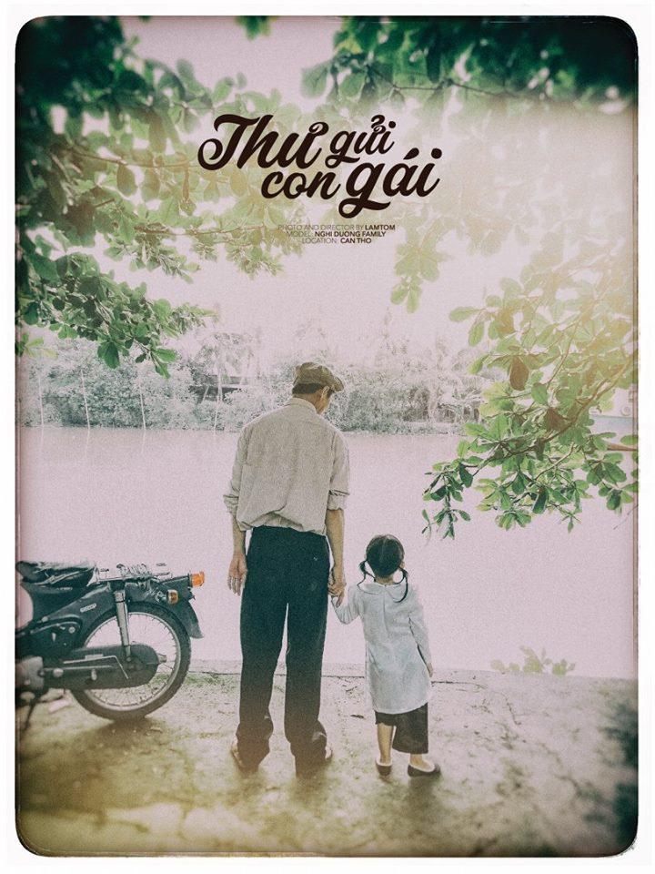 Thư gửi con gái - bộ ảnh mộc mạc nhưng ngập tràn yêu thương của bố và con gái nhỏ! - Ảnh 8.