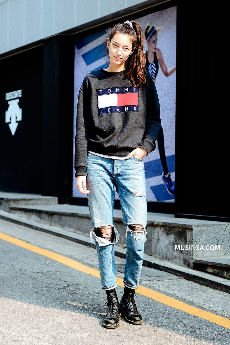 Ngắm các bạn trẻ Hàn mix đồ cool như thế này vừa thấy ghen tị vừa muốn phấn đấu mặc đẹp hơn nữa - Ảnh 8.