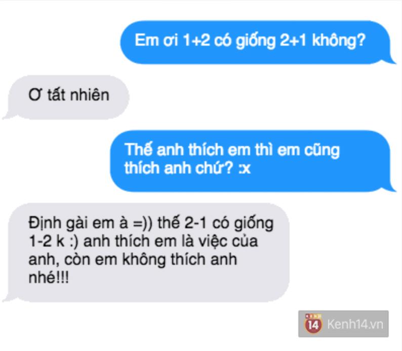 Tỏ tình với crush bằng cách hỏi 1+2 có bằng 2+1 không và cái kết... - Ảnh 7.