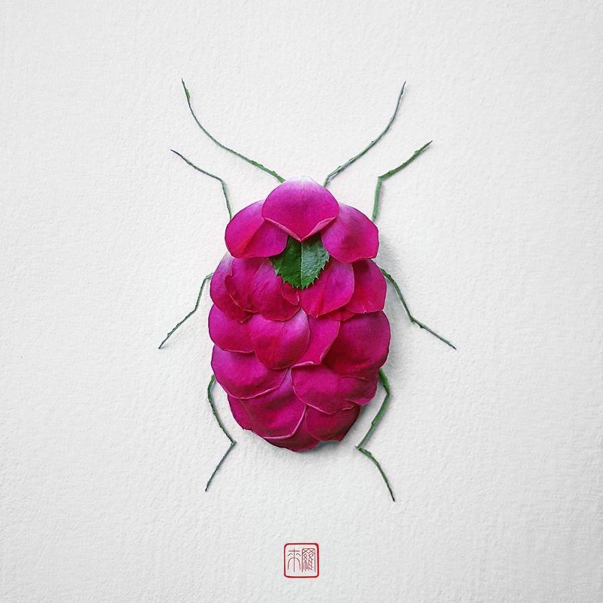 Khoác lên mình lớp áo hoa cỏ rực rỡ, côn trùng bỗng trở nên đẹp và sang hơn bao giờ hết - Ảnh 7.