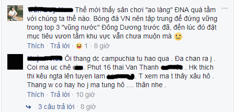 Dân mạng chế nhạo chiến thắng mà như thua của Việt Nam trước Campuchia - Ảnh 9.