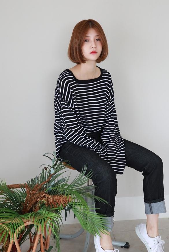 Áo dệt kim: lại thêm chiếc áo không thể thiếu của mùa thu bởi nàng nào diện vào cũng dịu dàng hơn bội phần - Ảnh 9.