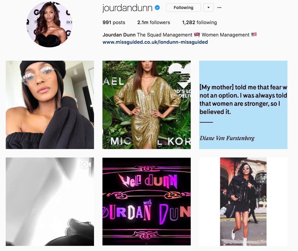 Không chỉ follow, siêu mẫu Victorias Secret Jourdan Dunn còn tích cực thả tim cho Châu Bùi trên Instagram - Ảnh 4.